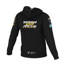 Supercheap Auto Racing Men's Team Zip Hoodie Black XS, Black, scaau_hi-res