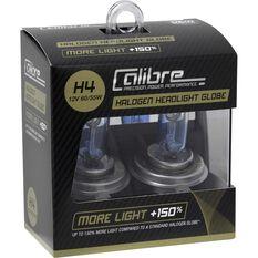 Calibre Plus 150 Headlight Globe H4 12V 60/55W, , scaau_hi-res