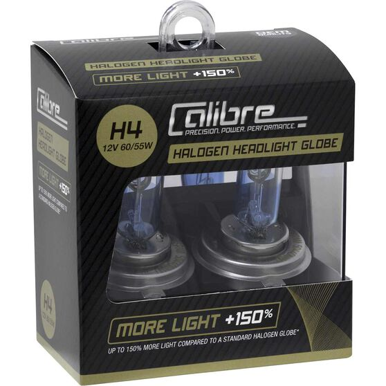 Calibre Plus 150 Headlight Globe H4 12V 60/55W, , scaau_hi-res