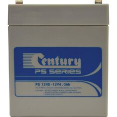 RECHARGEABLE BATTERY -  PS 1240, 12V 4AH, , scaau_hi-res