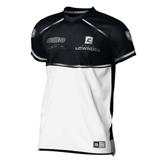 Craig Lowndes Men's 2020 Signature Series T-Shirt, Black, scaau_hi-res