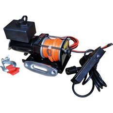 Ridge Ryder Electric Winch - 12V, 3,000lb, , scaau_hi-res