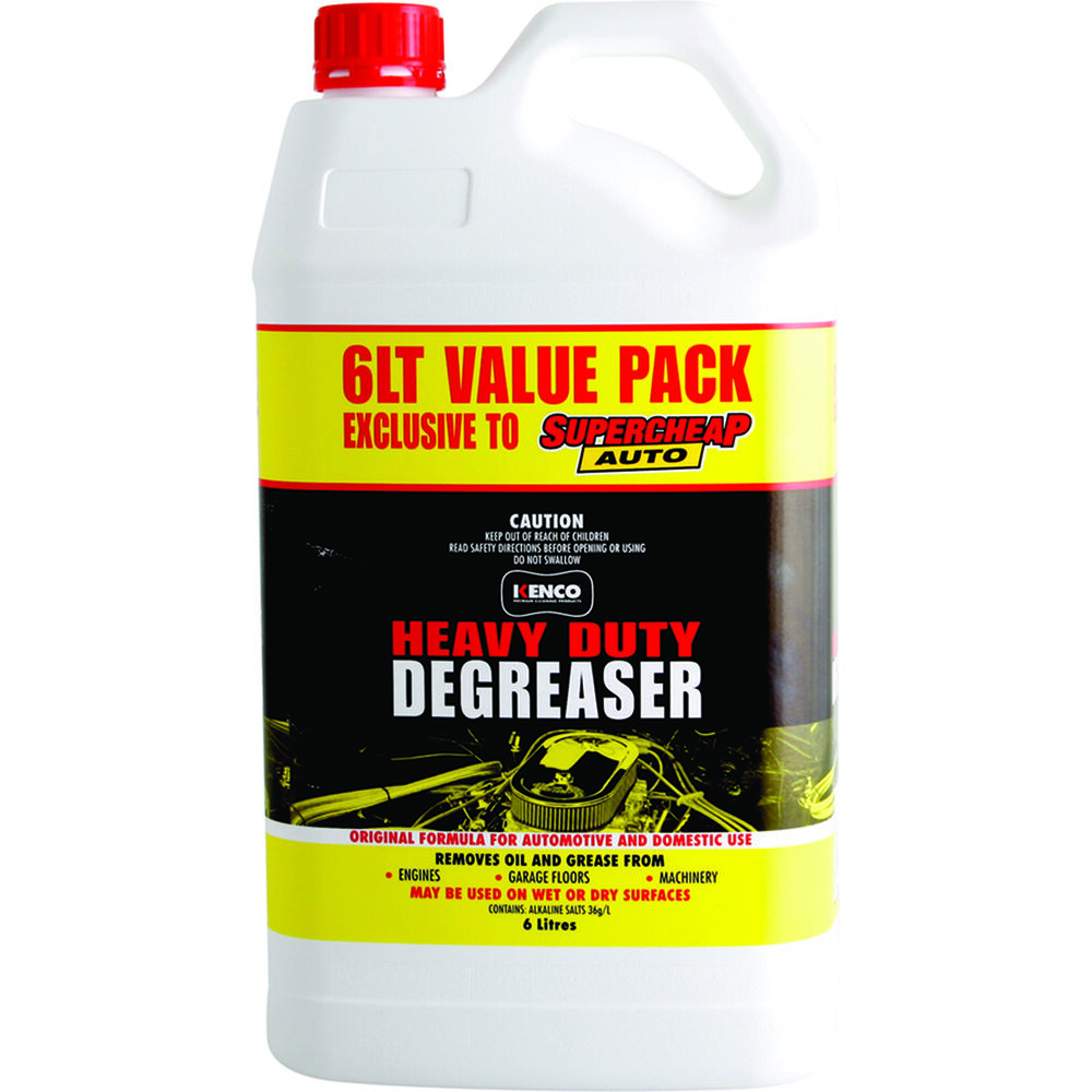 Heavy Duty Degreaser >> Kenco Heavy Duty Degreaser 6 Litre