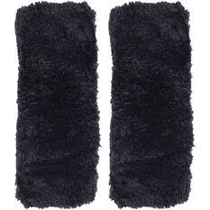 SCA Seat Belt Buddies - Sheepskin, Black, Pair, , scaau_hi-res