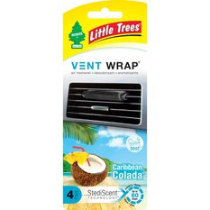 Little Trees Vent Wrap Air Freshener - Caribbean Colada, , scaau_hi-res