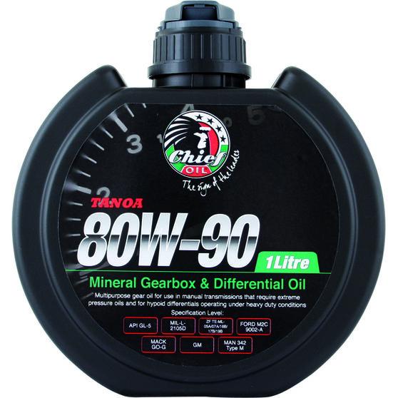 Chief Tanoa Gear Oil - 80W-90, 1 Litre, , scaau_hi-res