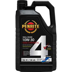 Penrite Small Engine 4 Stroke Engine Oil 10W-30 5 Litre, , scaau_hi-res