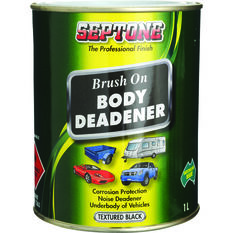 Septone Body Deadener Paint - Black, 1 Litre, , scaau_hi-res