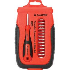 ToolPRO Precision Screwdriver Set - 16 Piece, , scaau_hi-res