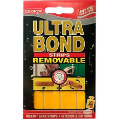 Ultrabond Double Sided Strips, 2cm x 4cm, , scaau_hi-res