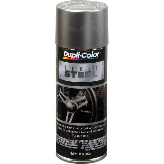 Dupli-Color Stainless Steel Paint - 312g, , scaau_hi-res