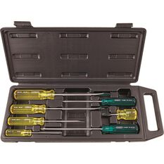Stanley Screwdriver Set - Acetate, 7 Piece, , scaau_hi-res