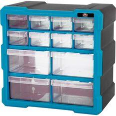 SCA Organiser - Blue, 12 Drawer, , scaau_hi-res