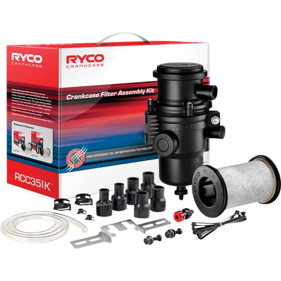 Ryco Crankcase Filter Assembly Kit - RCC351K, , scaau_hi-res