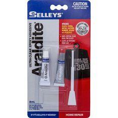 Selleys Araldite - Ultra Clear, 8mL, , scaau_hi-res