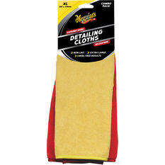 Meguiar's Supreme Shine Detailing Cloth 2 Pack, , scaau_hi-res