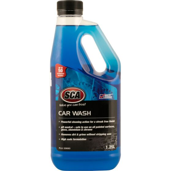 SCA Concentrate Car Wash - 1.25 Litre, , scaau_hi-res