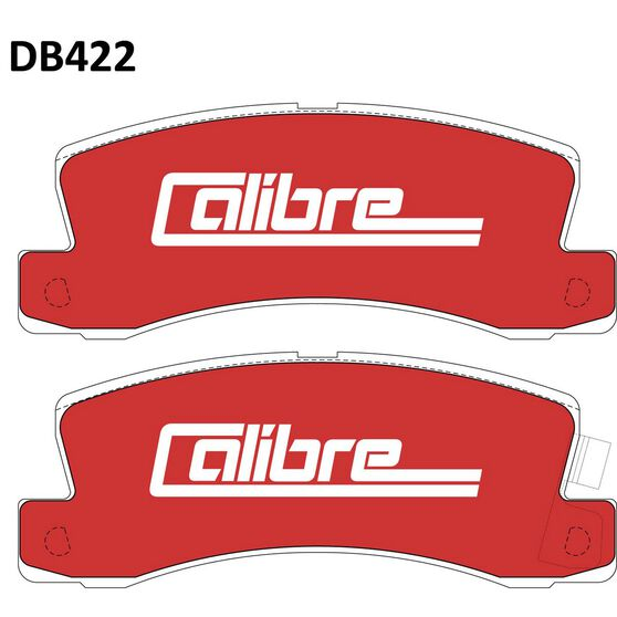 Calibre Disc Brake Pads DB422CAL, , scaau_hi-res