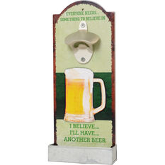 Bottle Opener With Tray, , scaau_hi-res