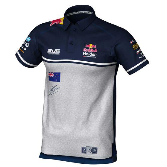 Red Bull Holden Racing Team Men's 2020 Shane Van Gisbergen Driver Polo, Navy, scaau_hi-res