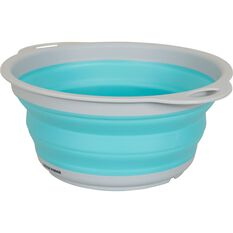 Ridge Ryder Collapsible Colander - Blue, , scaau_hi-res