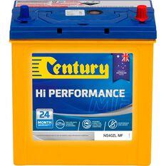 Century Car Battery - NS40ZLMF, 330CCA, , scaau_hi-res