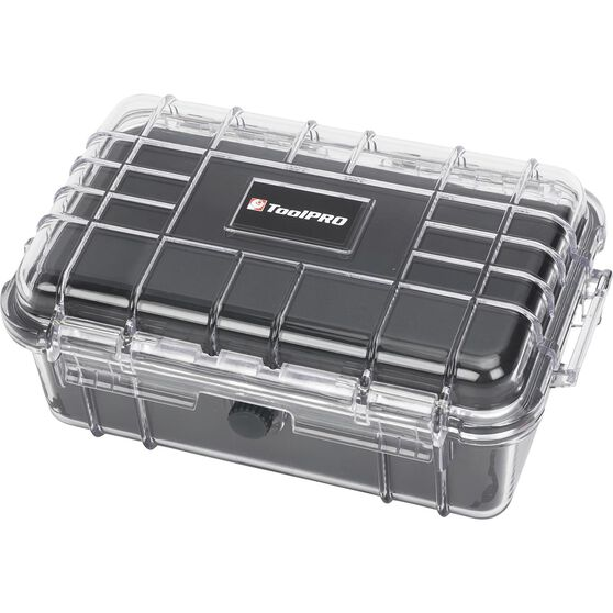 ToolPRO Hardcase Organiser Clear Medium, , scaau_hi-res
