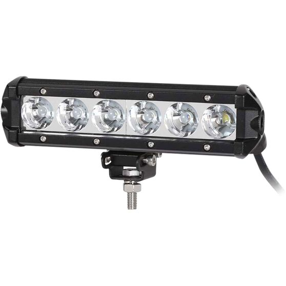 "Driving Light Bar LED 7.5"" Single Row - 18W, , scaau_hi-res"