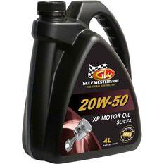 Gulf Western XP Engine Oil 20W-50 4 Litre, , scaau_hi-res