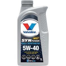 Valvoline Synpower MST Engine Oil - 5W-40 1 Litre, , scaau_hi-res
