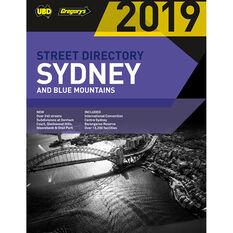Gregory's UBD Sydney Street Directory - 55th Edition, 2019, , scaau_hi-res