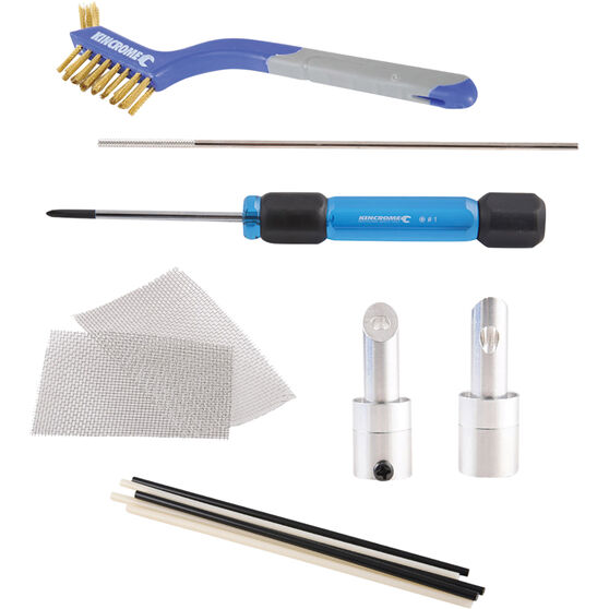 Kincrome Plastic Welding Kit 10 Piece, , scaau_hi-res