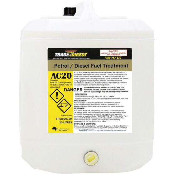 Petrol & Diesel Fuel Treatment 20 Litre - ST/AC20/20, , scaau_hi-res