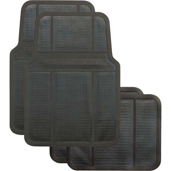 Best Buy Car Floor Mat - Black, Set of 4, , scaau_hi-res