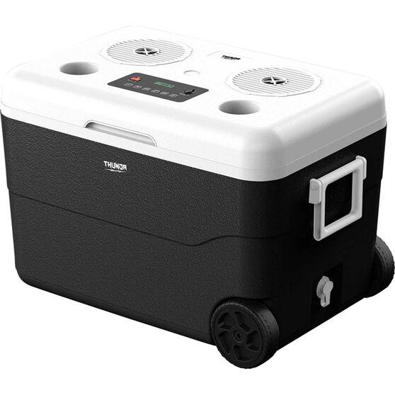 Thunda 55L Wheeled Cooler with Bluetooth Speakers, , scaau_hi-res