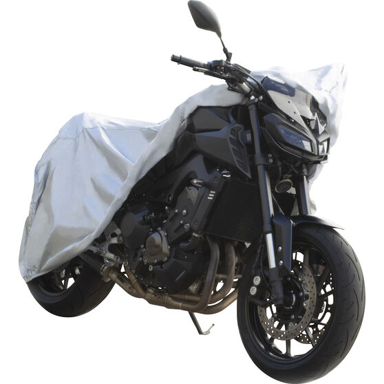CoverALL Motorcycle Cover - Essential Protection - Suits Small Motorcycles, , scaau_hi-res