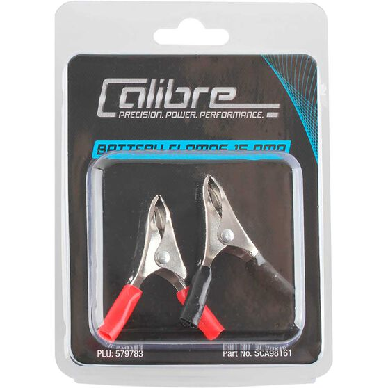 Calibre Battery Clamps - Twin Pack, 15 Amp, , scaau_hi-res