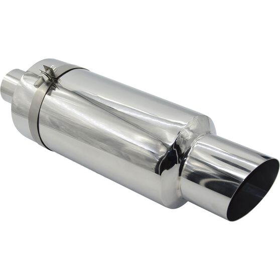 Calibre Stainless Steel Exhaust Cannon - Suits 51mm, , scaau_hi-res