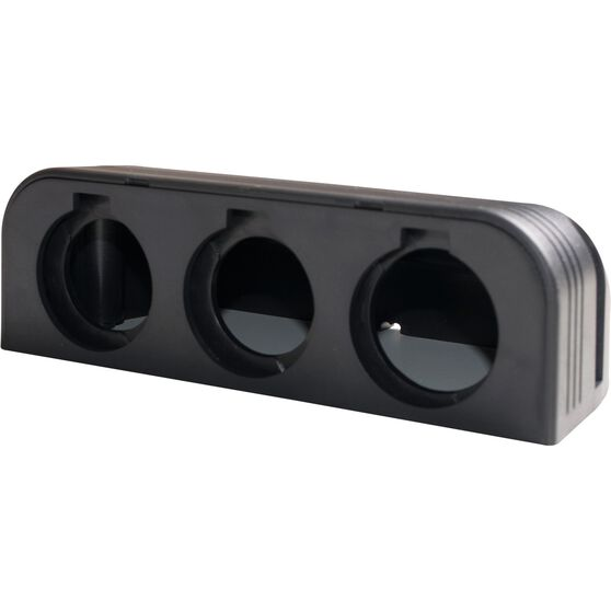 Ridge Ryder 12V Accessories Housing - 3 Space, , scaau_hi-res