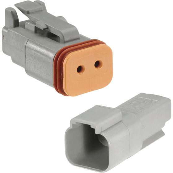 Calibre Deutsch Connector - 2 Pins, , scaau_hi-res