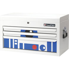 ToolPRO Tool Chest Robot Design 3 Drawer 26 Inch, , scaau_hi-res