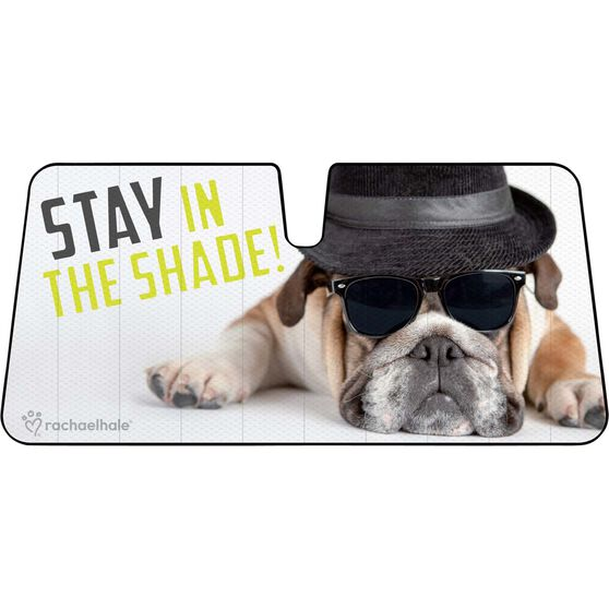 Bulldog Sunshade - Fashion, Accordion, Front, , scaau_hi-res