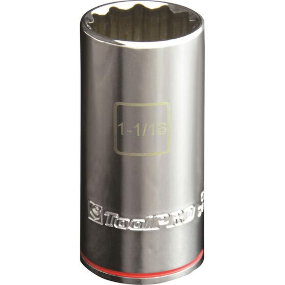 ToolPRO Single Socket - Deep, 1 / 2 inch Drive, 1-1 / 16 inch, , scaau_hi-res