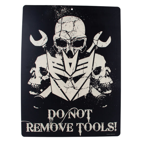Hot Stuff Sticker - Transformers Do Not Remove Tools, Vinyl, , scaau_hi-res