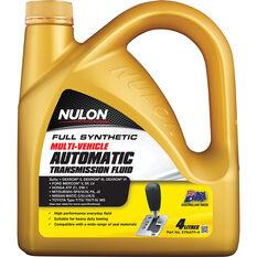 Nulon ATF Multi Vehicle Automatic Transmission Fluid 4 Litre, , scaau_hi-res