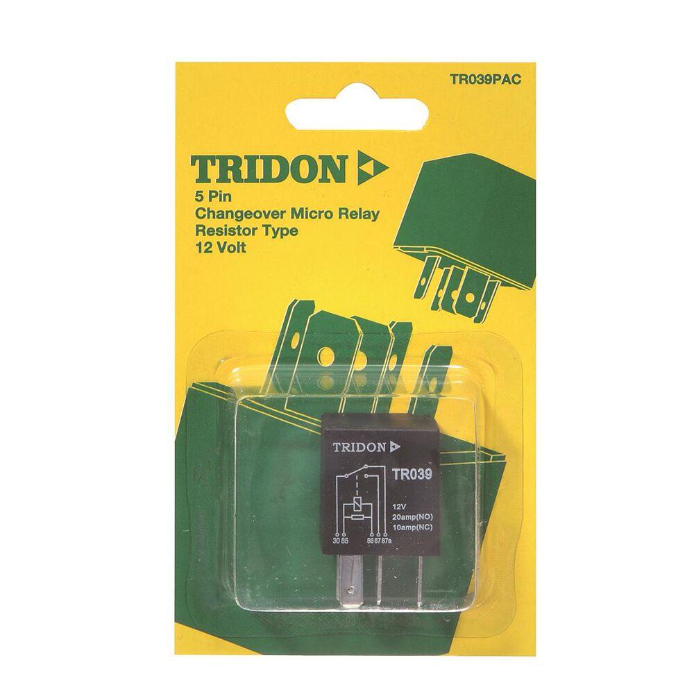 Tridon Micro Relay 20 10 Amp 5 Pin Supercheap Auto Lucas