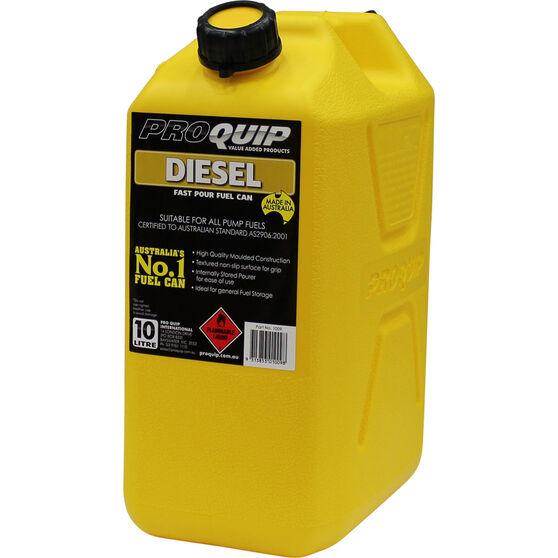 Pro Quip Diesel Jerry Can 10 Litre, , scaau_hi-res
