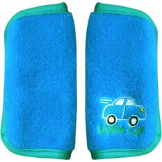 Little Car Seat Belt Buddies - Blue, Pair, , scaau_hi-res
