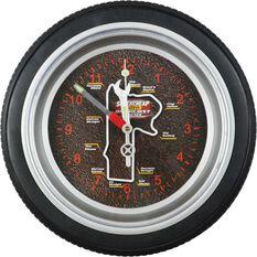 Bathurst 1000 - Tyre shaped wall clock, 14 inch, , scaau_hi-res