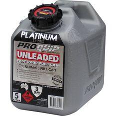 Pro Quip Platinum Petrol Jerry Can 5 Litre, , scaau_hi-res